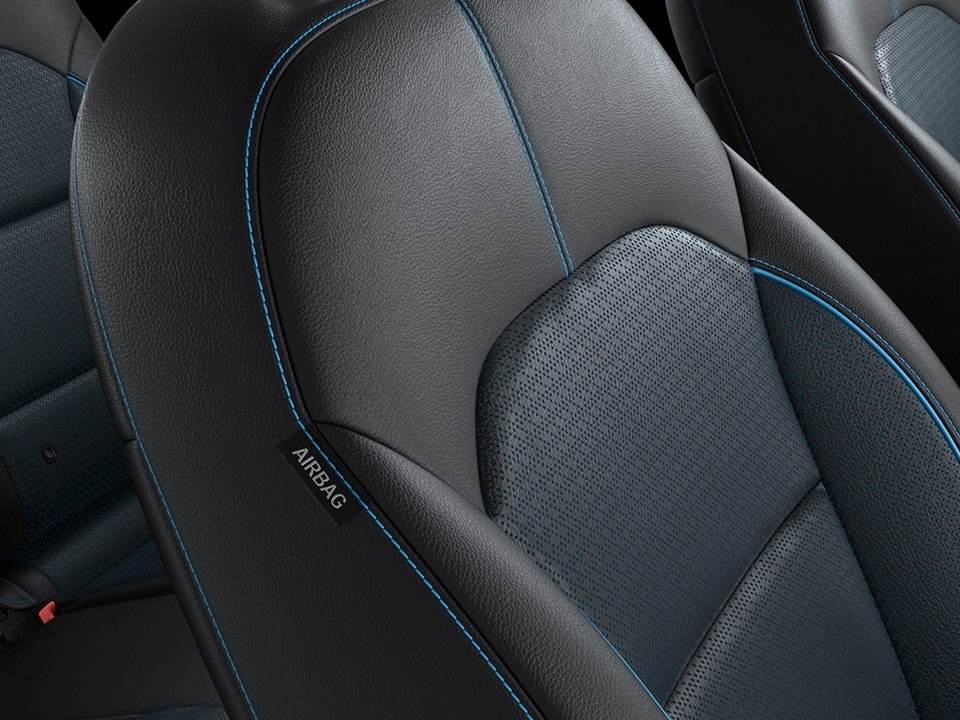 Kia e-Niro seats and colours